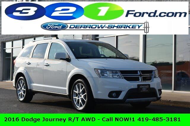 2016 Dodge Journey R/T AWD