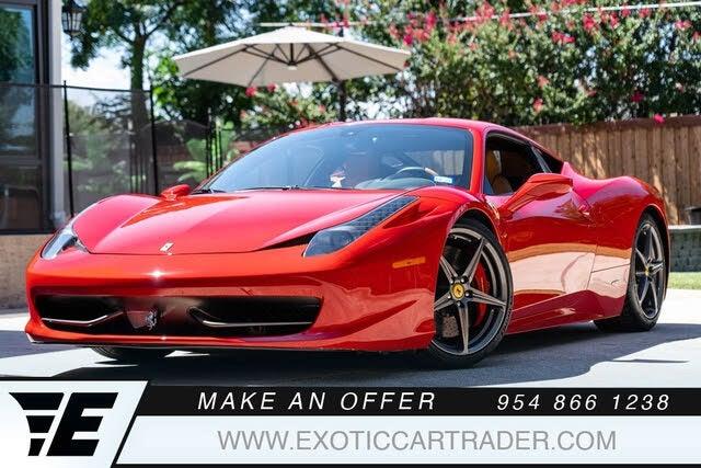 2010 Ferrari 458 Italia Coupe RWD