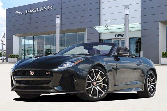 2020 Jaguar F-TYPE SVR Convertible AWD