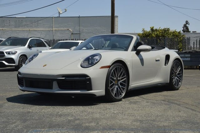 2021 Porsche 911 Turbo S Cabriolet AWD