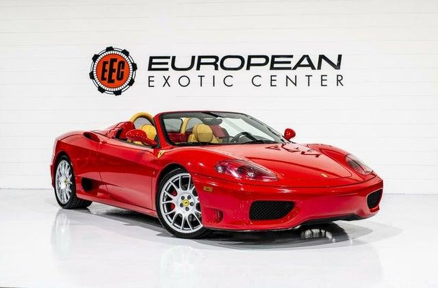 2004 Ferrari 360 Spider RWD