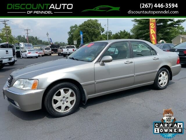 2002 Acura RL 3.5 FWD with Navigation
