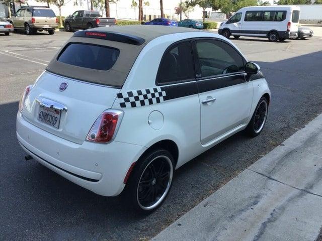 2012 FIAT 500 Pop Convertible
