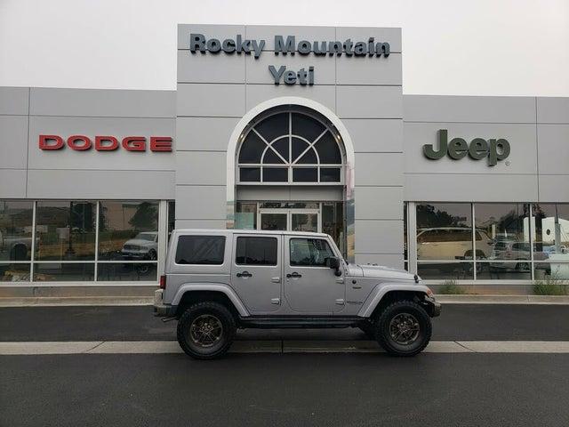 2016 Jeep Wrangler Unlimited Sahara 75th Anniversary 4WD
