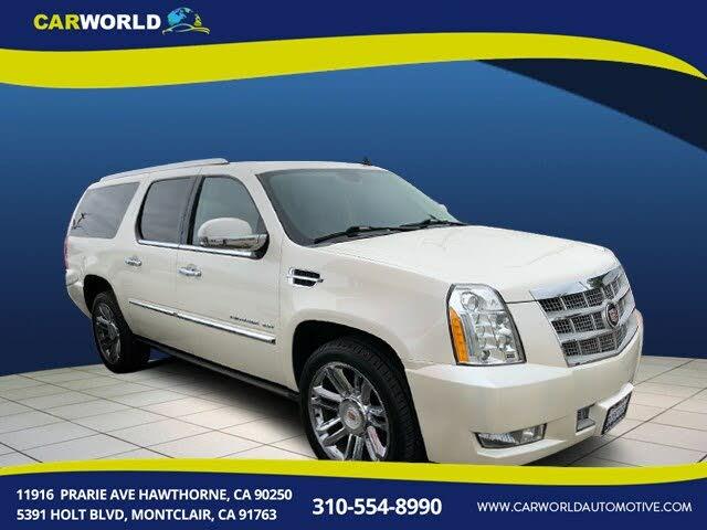 2013 Cadillac Escalade ESV Platinum 4WD