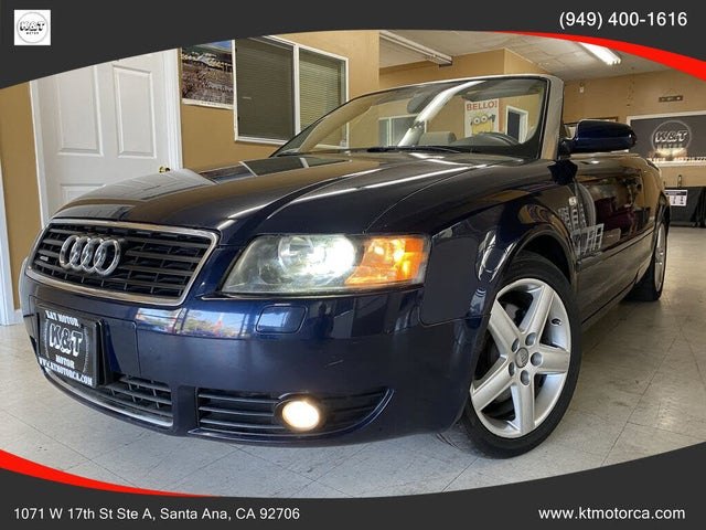 2004 Audi A4 3.0 Cabriolet FWD