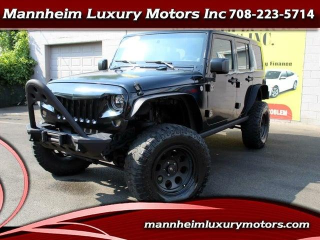 2007 Jeep Wrangler Unlimited Sahara 4WD