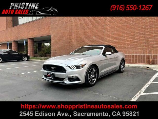 2016 Ford Mustang GT Premium Convertible RWD