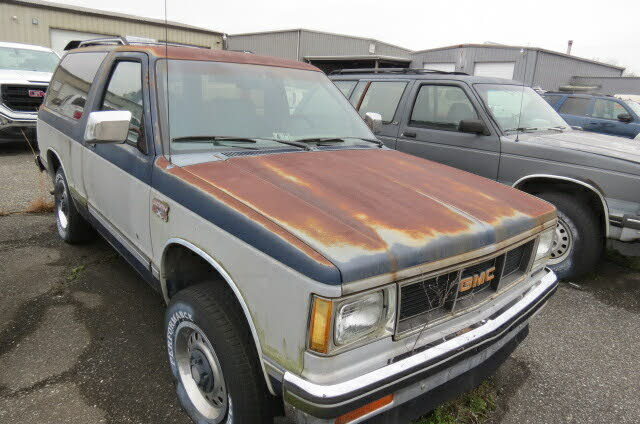 1986 GMC S-15 Jimmy 2 Dr 4WD SUV