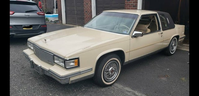1987 Cadillac DeVille Coupe FWD