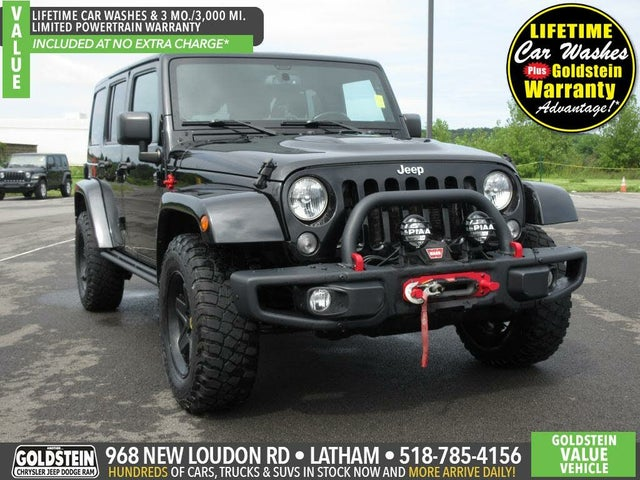 2015 Jeep Wrangler Unlimited Rubicon Hard Rock 4WD
