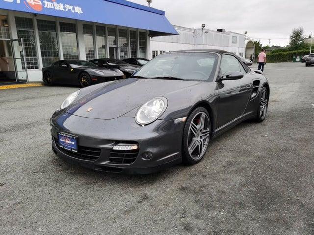 2008 Porsche 911 Turbo Convertible AWD