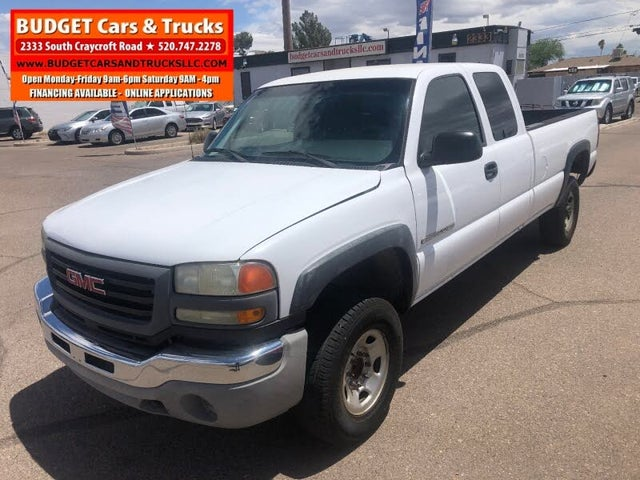 2007 GMC Sierra 2500HD Classic 2 Dr Work Truck Extended Cab 2WD