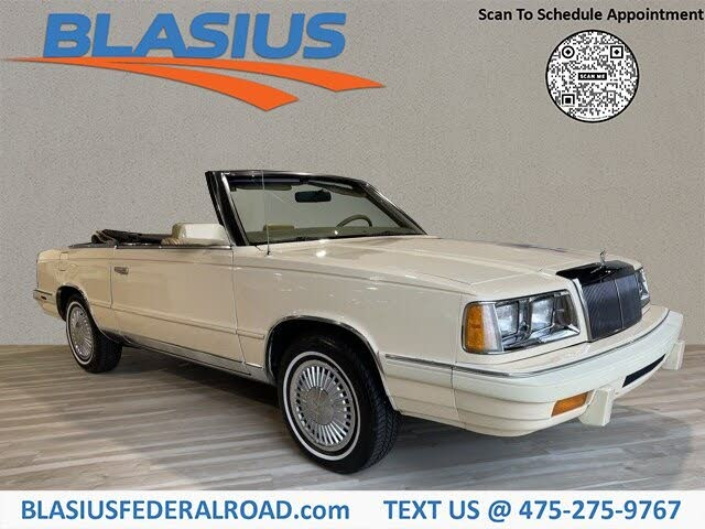 1986 Chrysler Le Baron Mark Cross Town and Country Convertible
