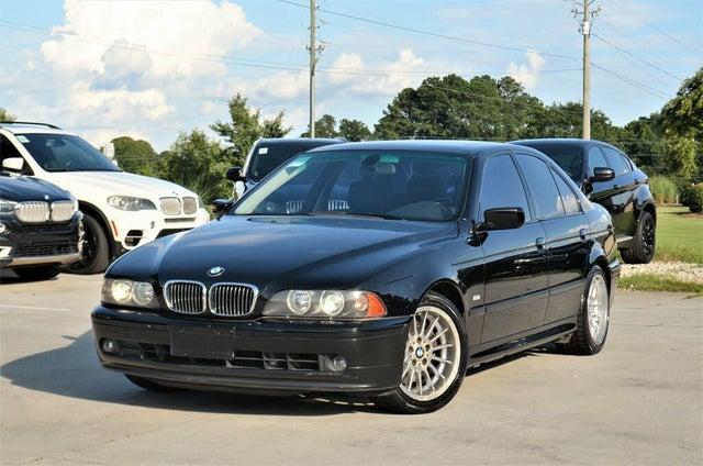 2001 BMW 5 Series 540i Sedan RWD