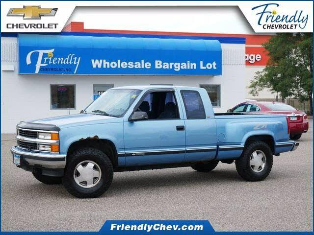 1997 Chevrolet C/K 1500 Silverado Extended Cab 4WD