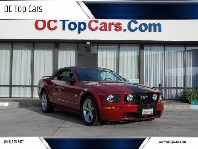 2009 Ford Mustang GT Premium Convertible RWD