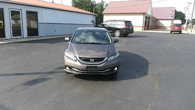 2014 Honda Civic Hybrid FWD with Navigation and Leather