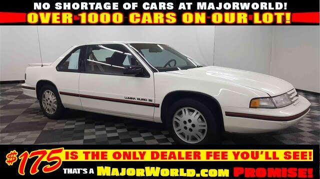 1991 Chevrolet Lumina Euro Coupe FWD