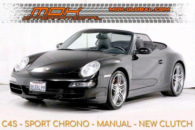 2008 Porsche 911 Carrera 4S Cabriolet AWD