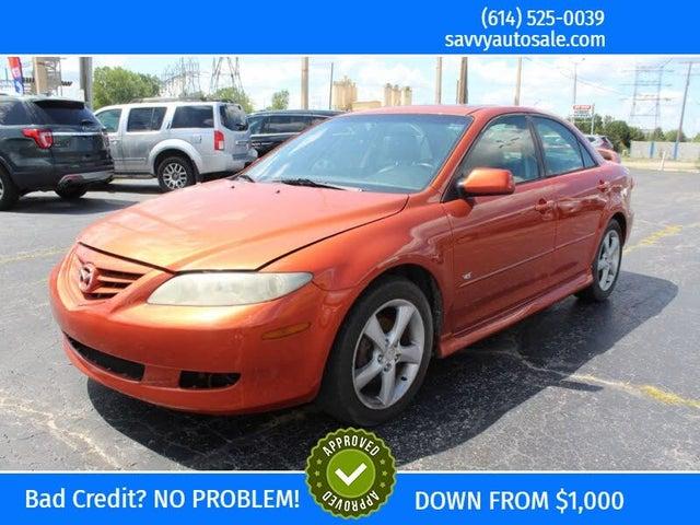 2005 Mazda MAZDA6 4 Dr s Sport Sedan
