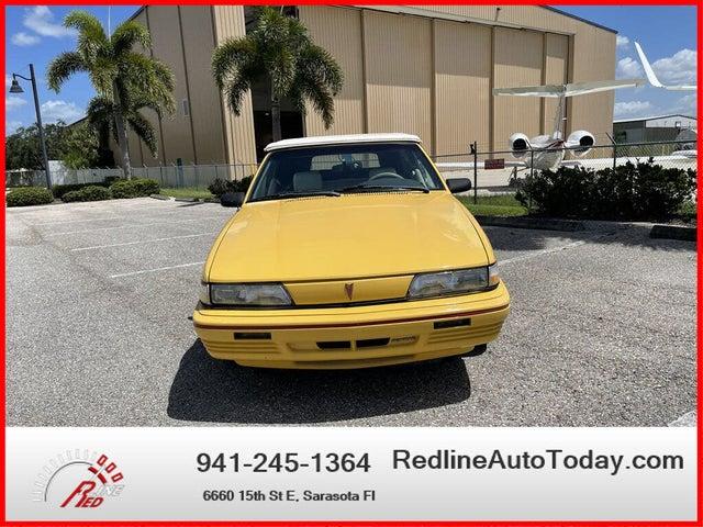 1992 Pontiac Sunbird 2 Dr SE Convertible