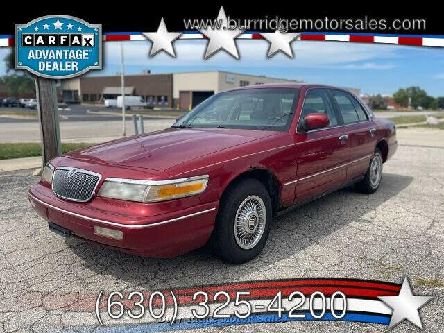 1996 Mercury Grand Marquis 4 Dr GS Sedan