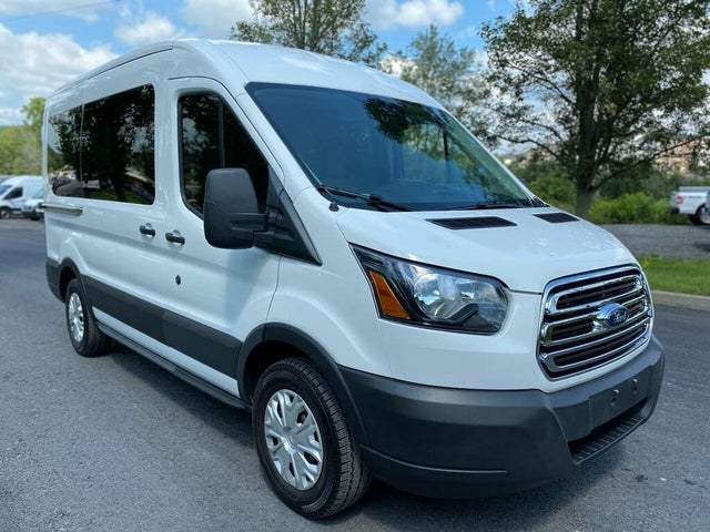 2019 Ford Transit Passenger 150 XLT RWD with Sliding Passenger-Side Door