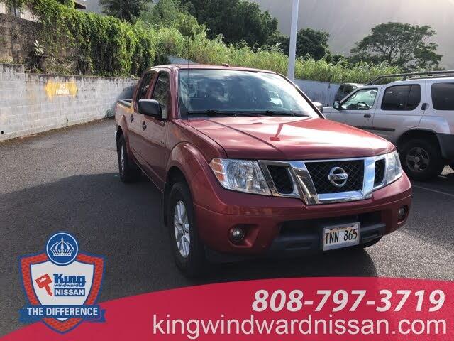 2018 Nissan Frontier SV V6 Crew Cab