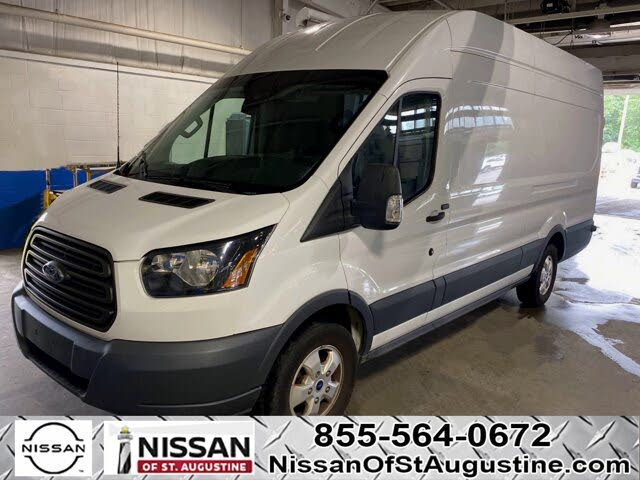 2018 Ford Transit Cargo 250 3dr LWB High Roof Extended Cargo Van with Sliding Passenger Side Door