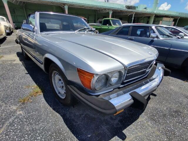 1984 Mercedes-Benz 380-Class 380 SL Convertible