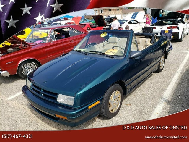 1992 Dodge Shadow 2 Dr ES Convertible