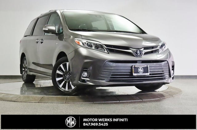 2019 Toyota Sienna Limited 7-Passenger AWD