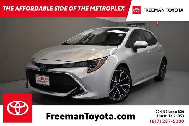 2020 Toyota Corolla Hatchback XSE FWD