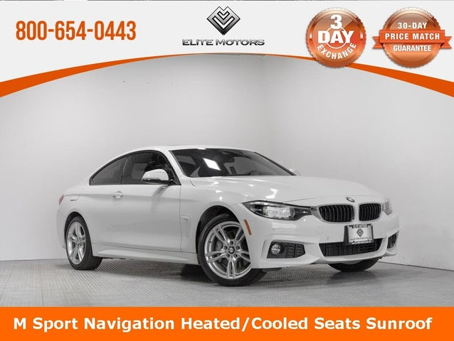 2019 BMW 4 Series 430i xDrive Coupe AWD