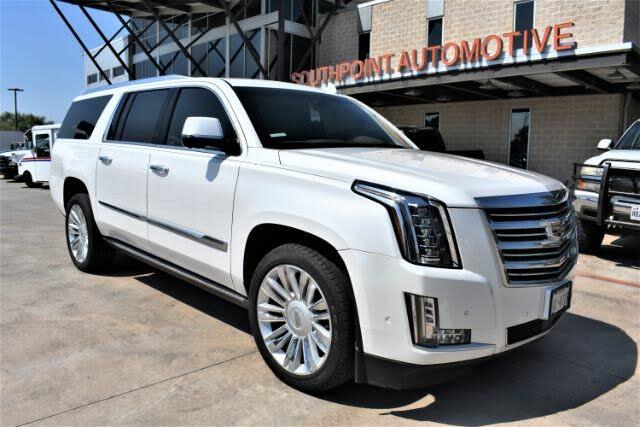 2017 Cadillac Escalade ESV Platinum RWD