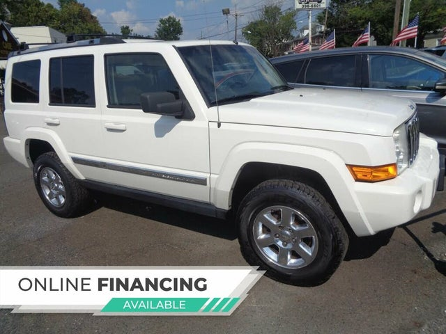 2008 Jeep Commander Limited 4WD