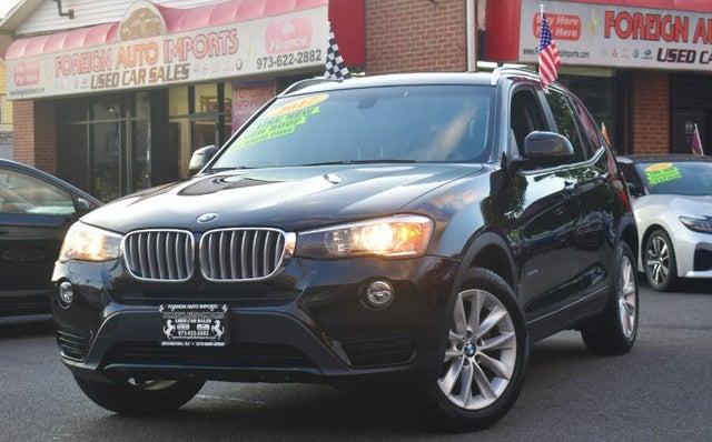 2017 BMW X3 xDrive28i AWD