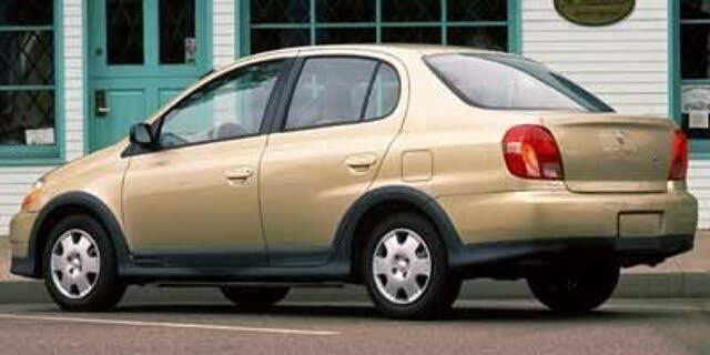 2002 Toyota ECHO 4 Dr STD Sedan