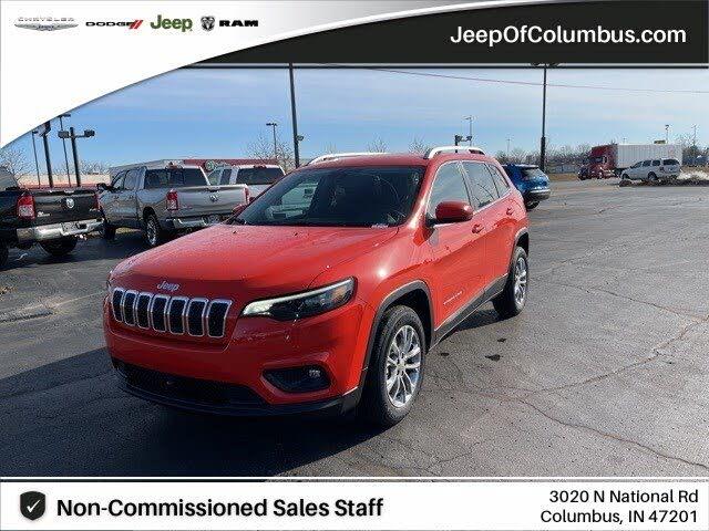 2021 Jeep Cherokee Latitude Lux FWD