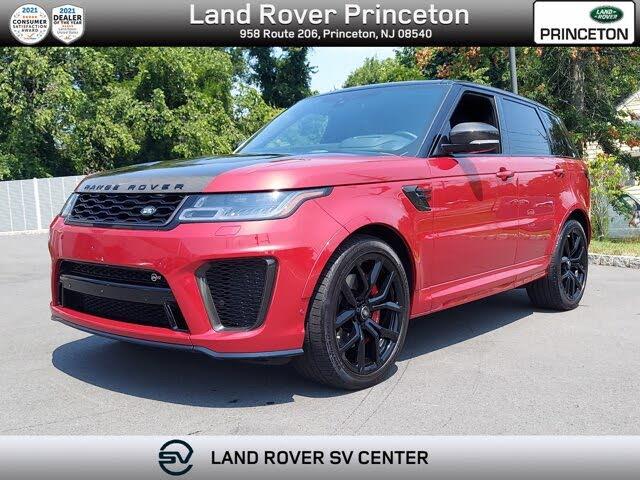 2020 Land Rover Range Rover Sport V8 SVR 4WD
