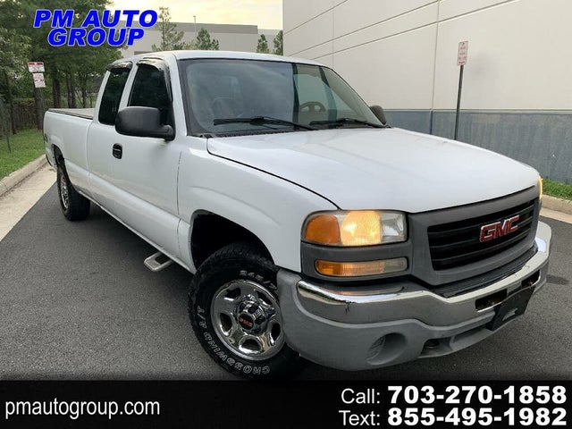 2004 GMC Sierra 1500 4 Dr Work Truck 4WD Extended Cab LB