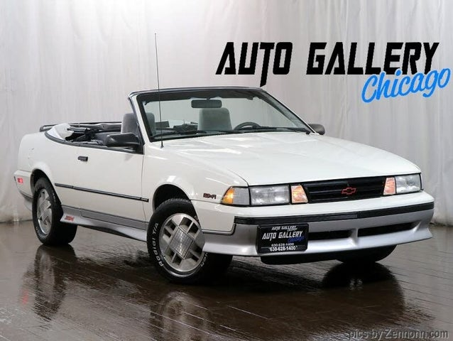 1989 Chevrolet Cavalier Z24 Convertible FWD