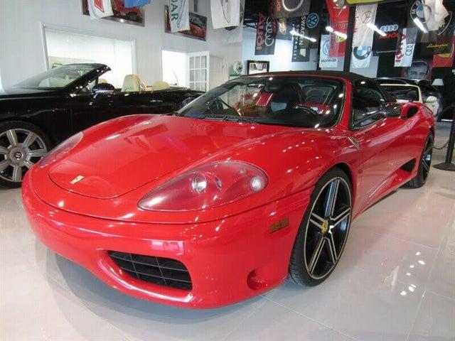 2002 Ferrari 360 Spider RWD