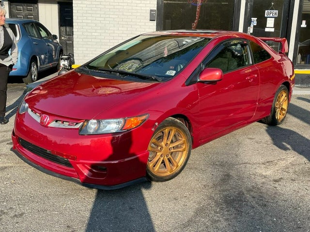 2007 Honda Civic Coupe Si with Nav