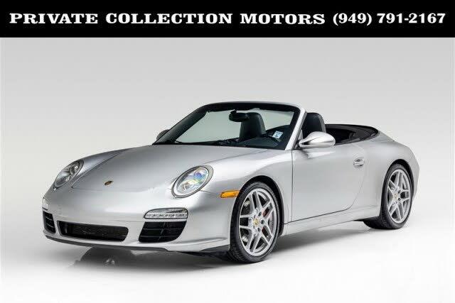 2011 Porsche 911 Carrera S Cabriolet RWD