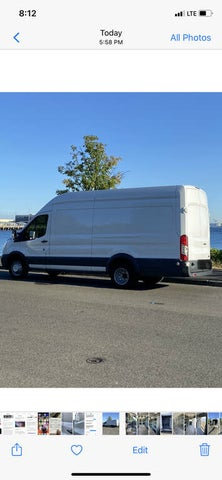 2015 Ford Transit Cargo 350 HD 3dr LWB High Roof Extended DRW with Sliding Passenger Side Door and 10360 Lb. GVWR