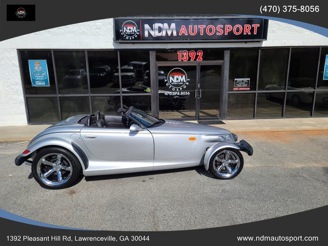 2001 Plymouth Prowler 2 Dr STD Convertible