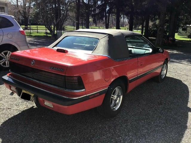 1990 Chrysler Le Baron Premium Convertible