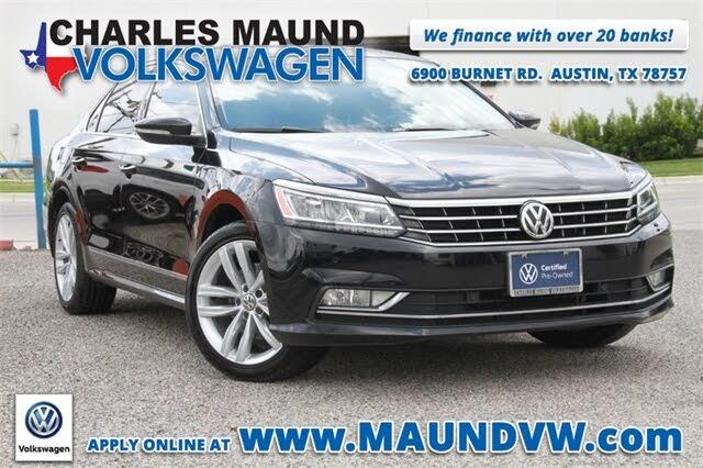 2018 Volkswagen Passat 2.0T SEL Premium FWD
